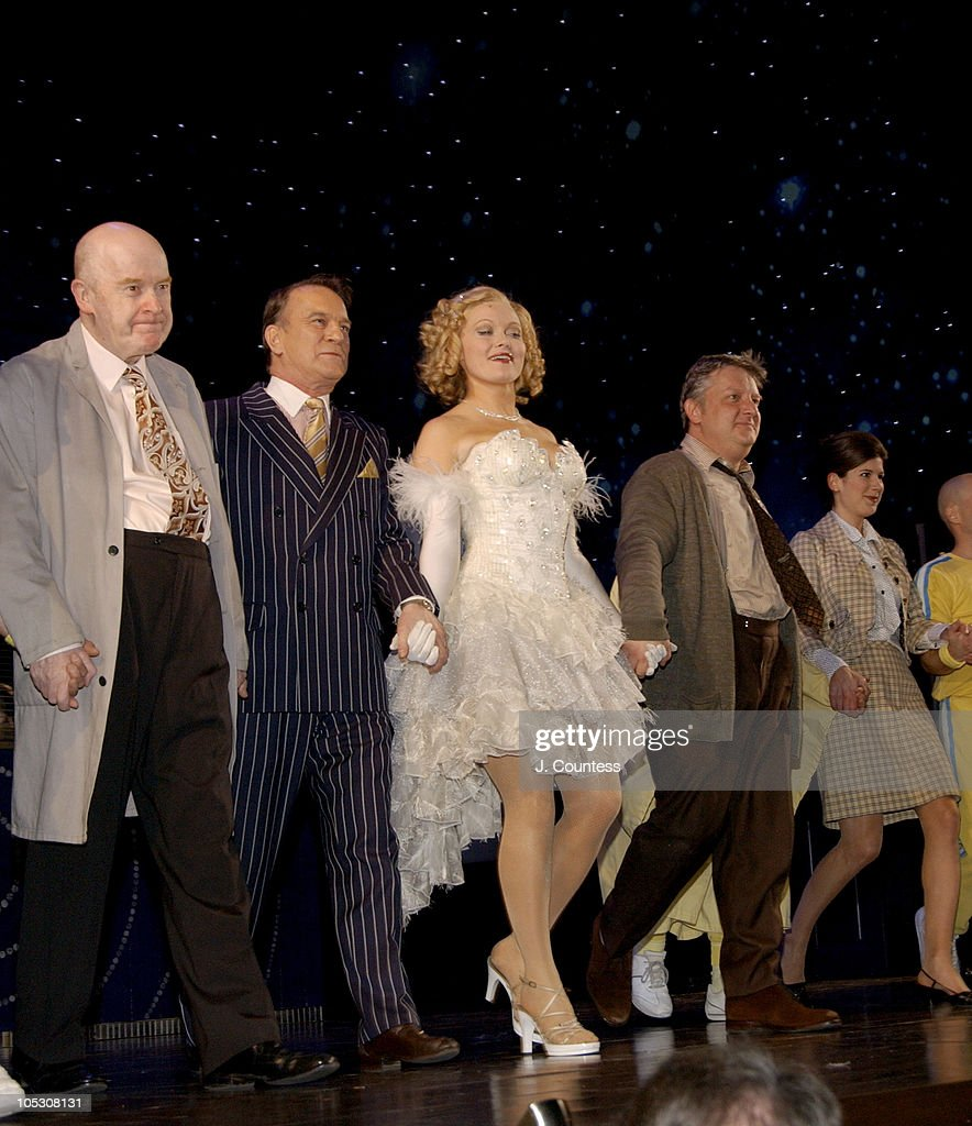 """Opening Night of """"Jumpers"""" - Curtain Call"""