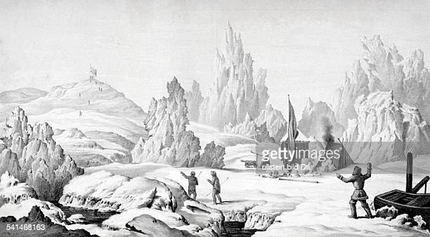 John Ross Lithographs / engravings from the 19th century Sir John Ross 1777 1856 Scottish rear admiral and Arctic explorer 2nd arctic expedition...