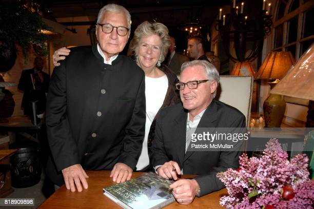 John Rosselli Bunny Williams and Bobby McAlpine attend Book Party for BOBBY MCALPINE'S 'THE HOME WITHIN US' from RIZZOLI at Treillage on May 18th...