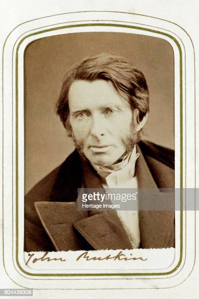 John Ruskin English artist poet and critic 1865 Ruskin was a supporter of the PreRaphaelites and an inspiration for the Arts and Crafts movement...