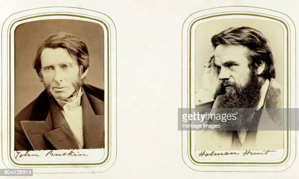 John Ruskin English artist poet and critic and William Holman Hunt English artist 1865 Ruskin was a supporter of the PreRaphaelites and an...