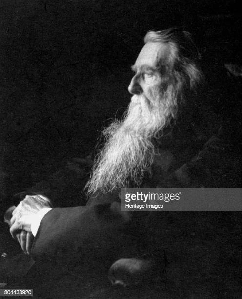 John Ruskin English artist poet and critic c1897 Ruskin was a supporter of the PreRaphaelites and an inspiration for the Arts and Crafts movement...