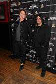 John Rzeznik and Robby Takac attend 2nd Annual National Concert Day Show at Irving Plaza on May 3 2016 in New York City