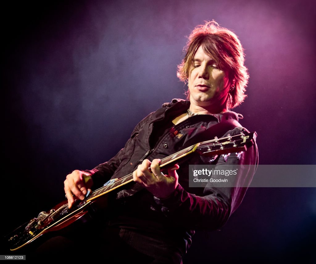 John Rzeznik of Goo Goo Dolls performs at Brixton Academy on November 13, 2010 in London, England.