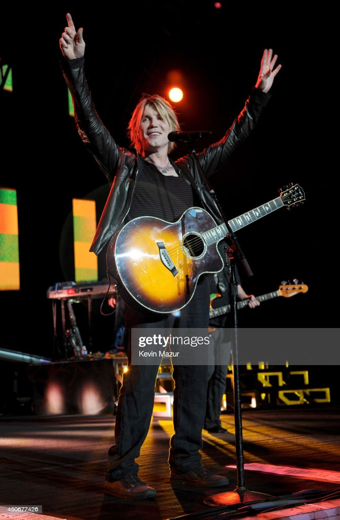 John Rzeznik of Goo Goo Dolls performs onstage at Nikon at Jones Beach Theater on June 14 2014 in Wantagh New York