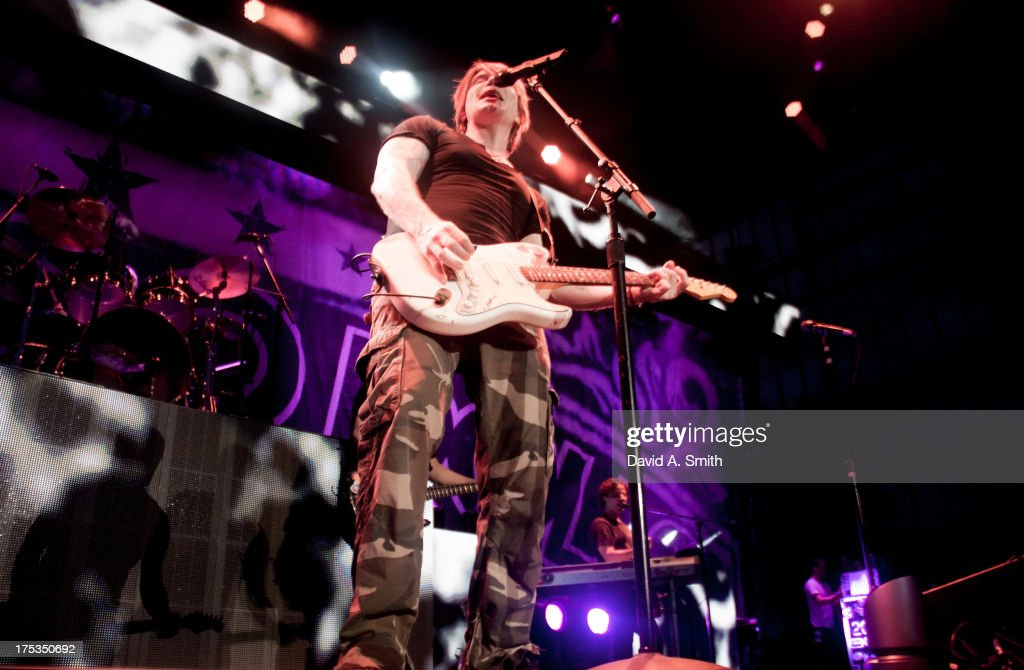<a gi-track='captionPersonalityLinkClicked' href=/galleries/search?phrase=John+Rzeznik&family=editorial&specificpeople=220876 ng-click='$event.stopPropagation()'>John Rzeznik</a> of Goo-Goo Dolls performs at the Verizon Wireless Music Center on August 2, 2013 in Birmingham, Alabama.