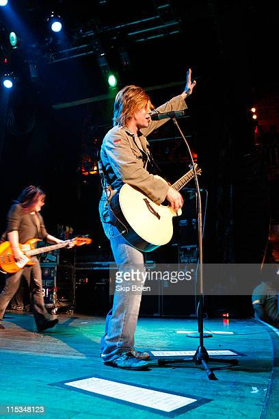 John Rzeznik of the Goo Goo Dolls during Visa Signature Presents 'Signature Sounds Live on the Sunset Strip' with the Goo Goo Dolls at House of Blues...