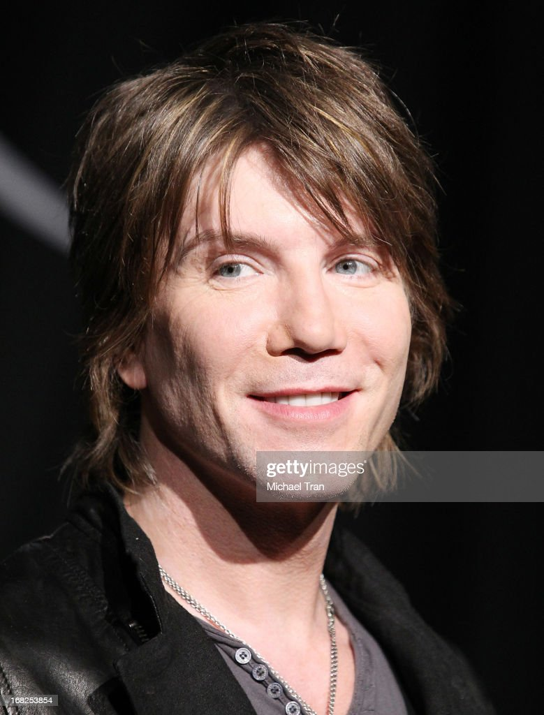 John Rzeznik of the Goo Goo Dolls inducted into Guitar Center's historic RockWalk held at Guitar Center on May 7, 2013 in Hollywood, California.