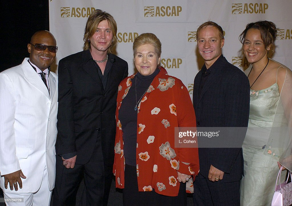 John Rzeznik of the Goo Goo Dolls Marilyn Bergman president/chairman of ASCAP and guests
