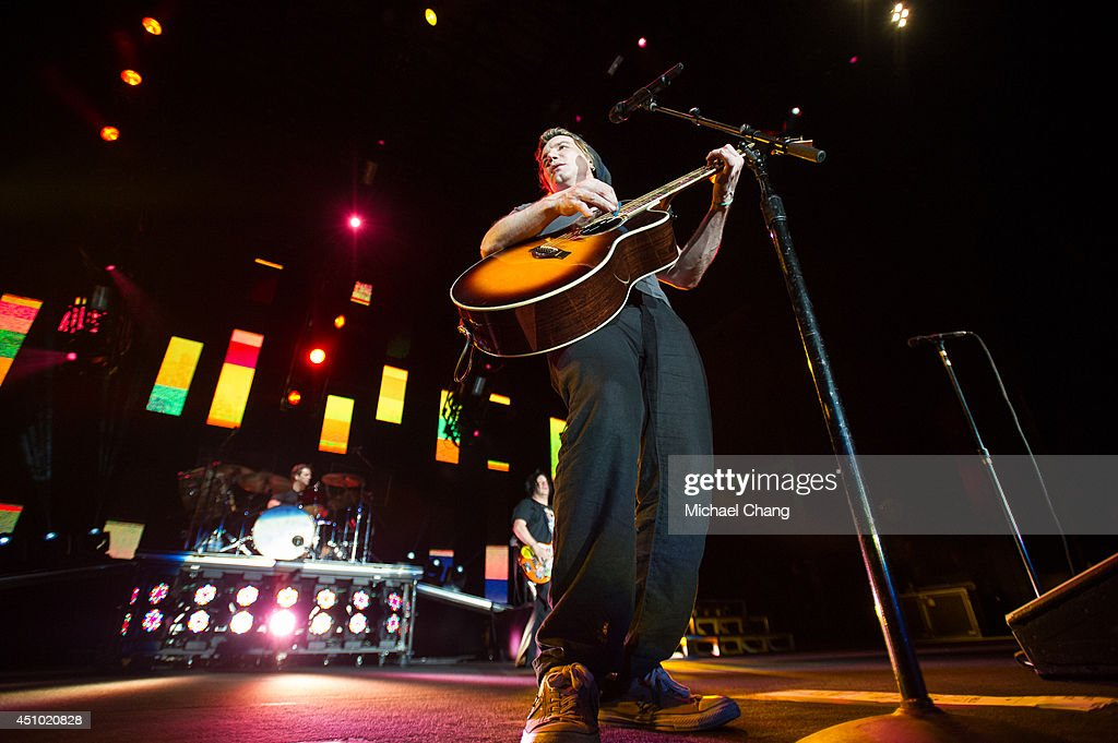 John Rzeznik of the Goo Goo Dolls perform in concert at The Amphitheater at the Wharf on June 21, 2014 in Orange Beach, Alabama.