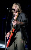 John Rzeznik of the Goo Goo Dolls performs as they filmed a music DVD before their hometown crowd