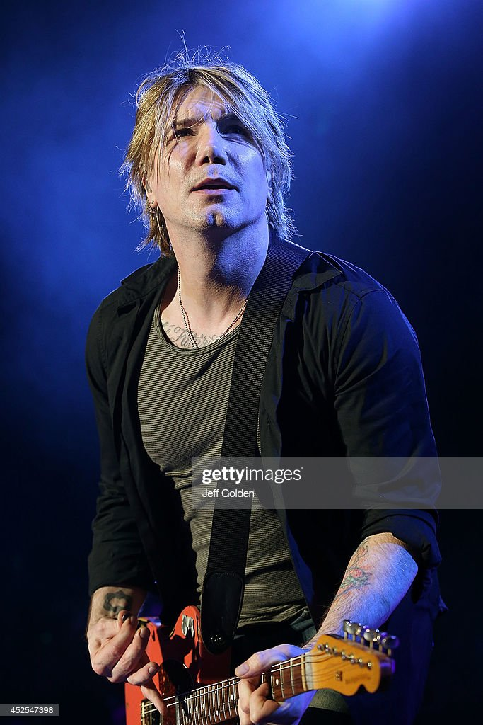John Rzeznik of the Goo Goo Dolls performs at The Greek Theatre on July 22 2014 in Los Angeles California