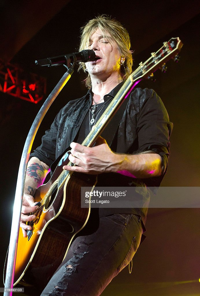 John Rzeznik of The Goo Goo Dolls performs at the Meadow Brook Music Festival on July 17, 2011 in Rochester, Michigan.