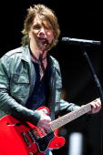 John Rzeznik of the Goo Goo Dolls performs during day 3 of the 2010 NCAA Big Dance Concert Series at White River State Park on April 4 2010 in...