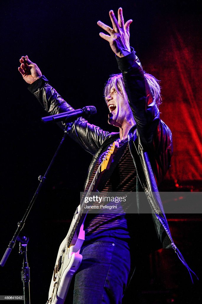 John Rzeznik of The Goo Goo Dolls performs in concert at Nikon at Jones Beach Theater on June 14, 2014 in Wantagh, New York.