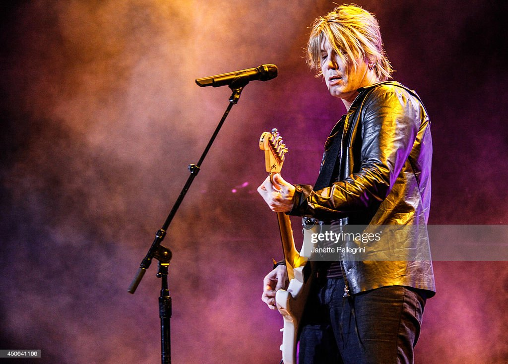 John Rzeznik of The Goo Goo Dolls performs in concert at Nikon at Jones Beach Theater on June 14 2014 in Wantagh New York