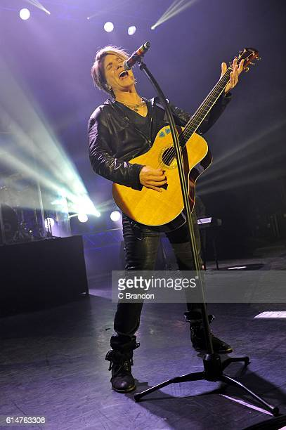 John Rzeznik of the Goo Goo Dolls performs on stage at the Eventim Apollo on October 14 2016 in London England