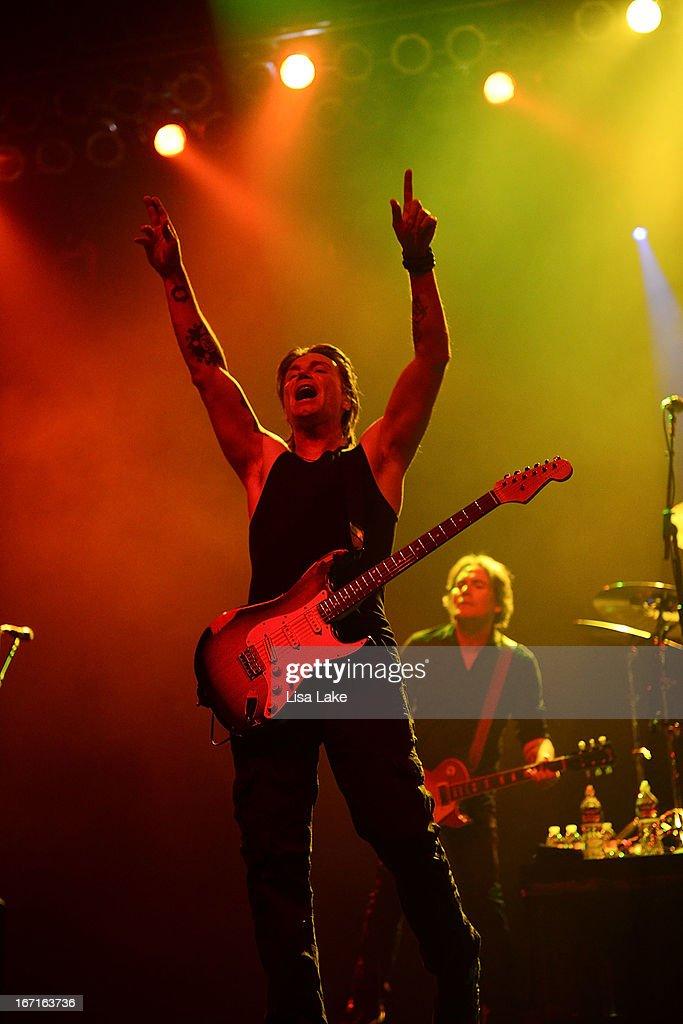 John Rzeznik of The Goo-Goo Dolls performs live on stage at the Sands Bethlehem Event Center on April 21, 2013 in Bethlehem, Pennsylvania.