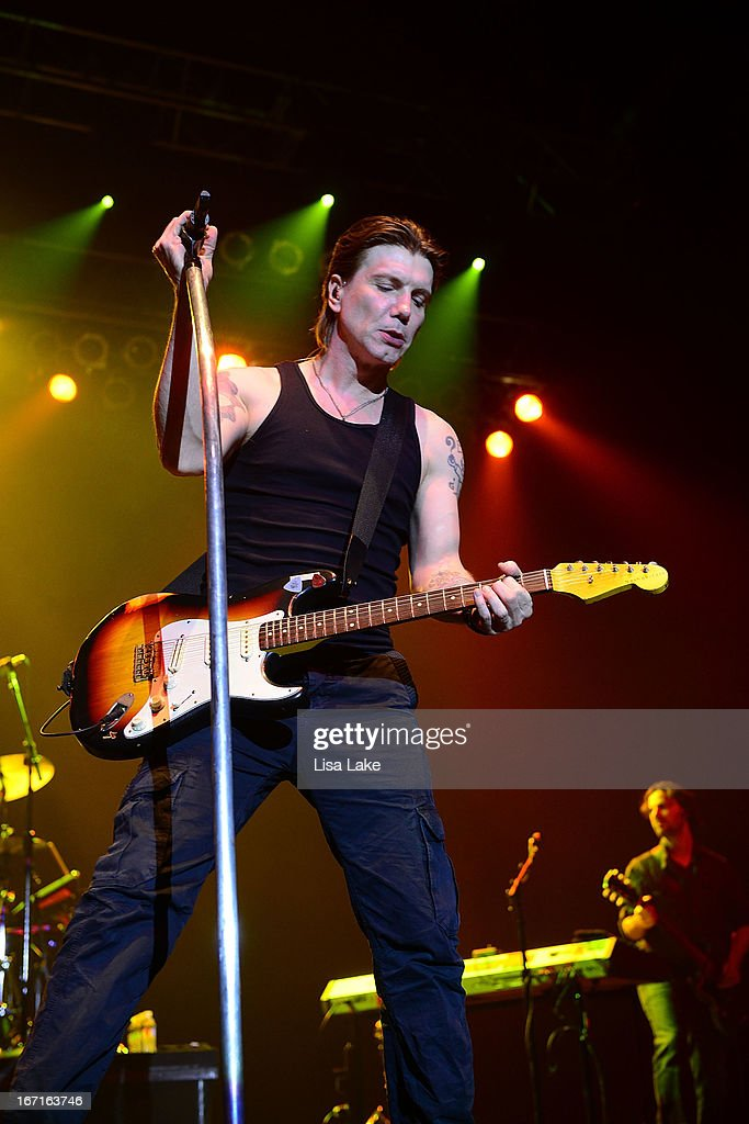 John Rzeznik of The Goo-Goo Dolls performs live on stage at the Sands Bethlehem Event Center on April 21, 2013 in Bethlehem, Pennsylvania.