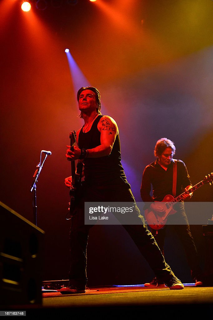 <a gi-track='captionPersonalityLinkClicked' href=/galleries/search?phrase=John+Rzeznik&family=editorial&specificpeople=220876 ng-click='$event.stopPropagation()'>John Rzeznik</a> of The Goo-Goo Dolls performs live on stage at the Sands Bethlehem Event Center on April 21, 2013 in Bethlehem, Pennsylvania.