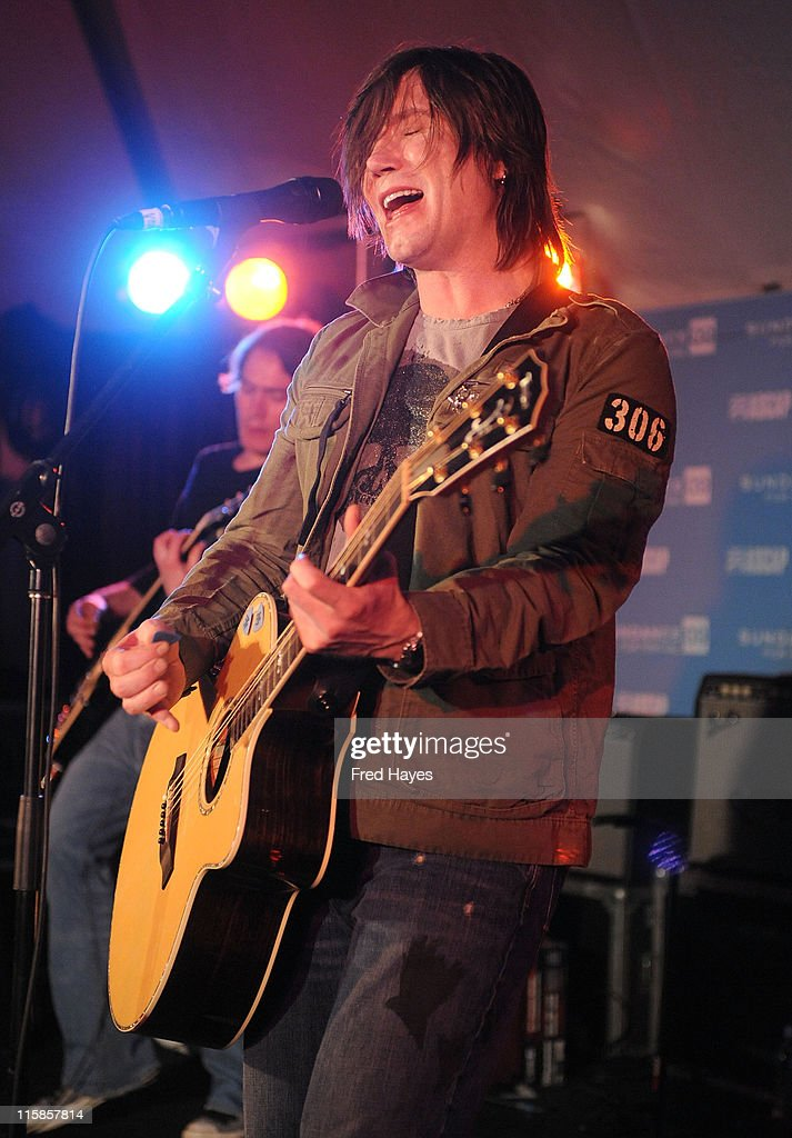 John Rzeznik performs at the ASCAP Music Cafe during the 2008 Sundance FIlm Festival on January 18 2009 in Park City Utah