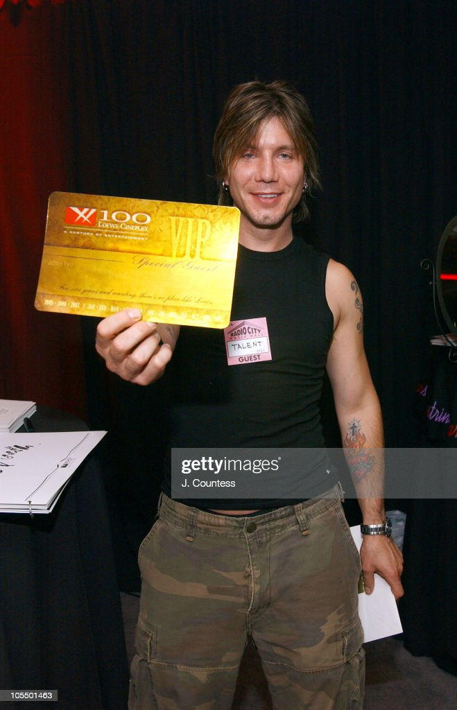 John Rzeznik with Loews Cineplex Entertainment Annual Movie Pass for 2