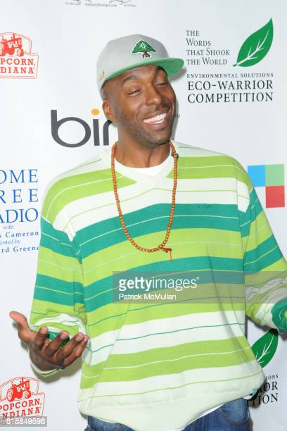 John Salley attends James Cameron and AVATAR Cast Celebrate Earth Day in Los Angeles at JW Marriot on April 22 2010 in Los Angeles California