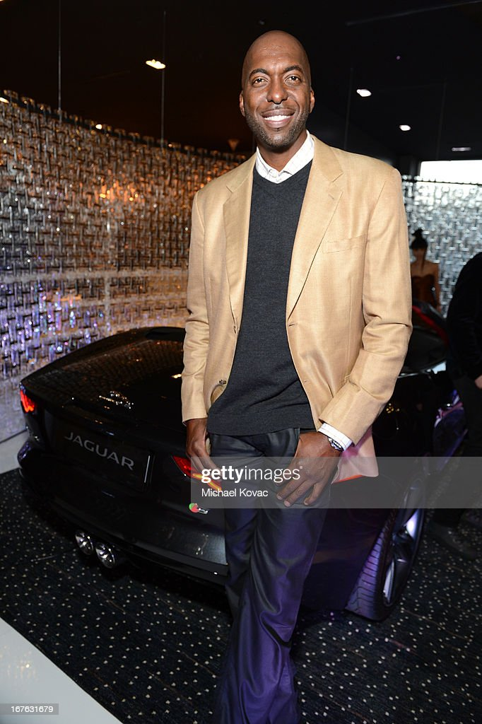 <a gi-track='captionPersonalityLinkClicked' href=/galleries/search?phrase=John+Salley&family=editorial&specificpeople=215276 ng-click='$event.stopPropagation()'>John Salley</a> attends the BritWeek Christopher Guy event with official vehicle sponsor Jaguar on April 26, 2013 in Los Angeles, California.