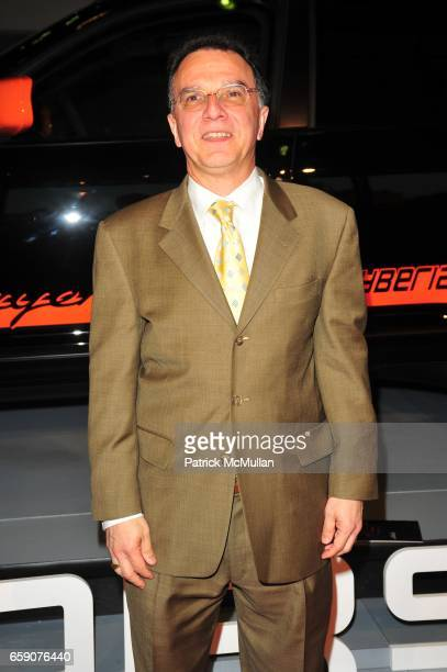 John Sanchez attends PORSCHE hosts EAST SIDE HOUSE SETTLEMENT gala preview of the 2009 New York International Auto Show at Jacob Javits Center NYC on...