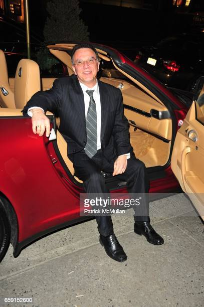 John Sanchez attends The EAST SIDE HOUSE SETTLEMENT GALA preview of the 2009 New York International Auto Show at Wally Findlay Galleries on February...