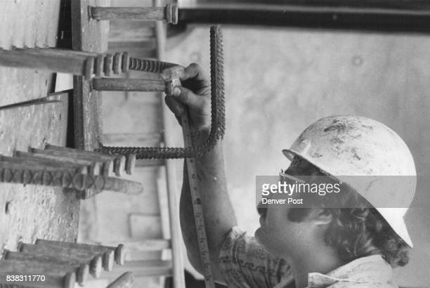 John Sanchez measures the size of the plater Credit Denver Post Inc
