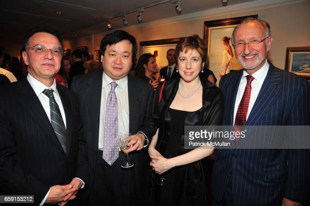John Sanchez Phil Yang Maria Yang and Peter Standish attend The EAST SIDE HOUSE SETTLEMENT GALA preview of the 2009 New York International Auto Show...