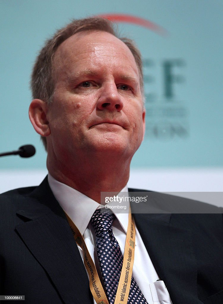 John Sandwick, specialist at Islamic Wealth & Asset Management, attends the 6th World Islamic Economic Forum (WIEF), in Kuala Lumpur, Malaysia, on Thursday, May 20, 2010. The forum concludes today. Photographer: Goh Seng Chong/Bloomberg via Getty Images