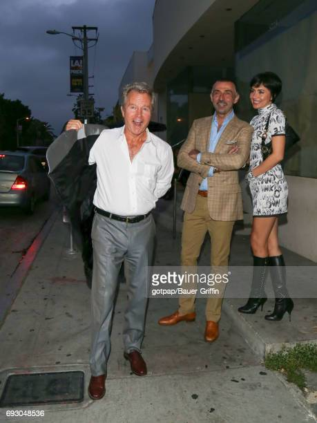 John Savage and Shaun Toub are seen on June 05 2017 in Los Angeles California
