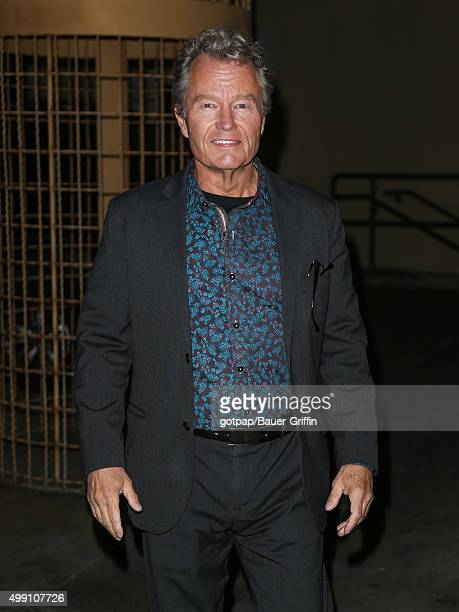 John Savage is seen arriving at the premiere of 'Black Dove' on November 28 2015 in Los Angeles California