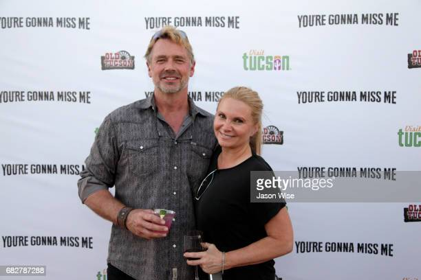 John Schneider and Alicia Allain attend 'You're Gonna Miss Me' premiere sponsored by Visit Tucson on May 13 2017 in Tucson Arizona