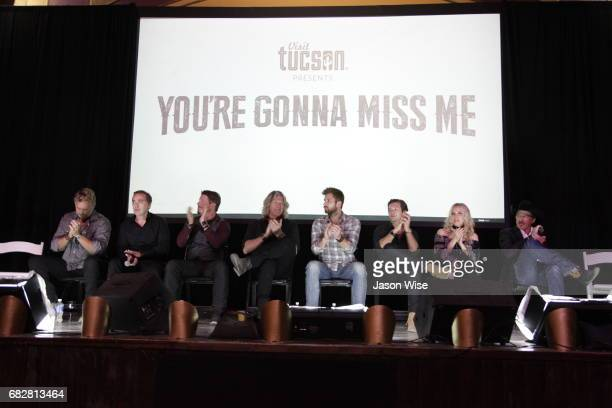 John Schneider John Kuelbs Dustin Rykert William Shockley Justin Deeley Leo Howard Eden XO and Kix Brooks attend 'You're Gonna Miss Me' premiere...