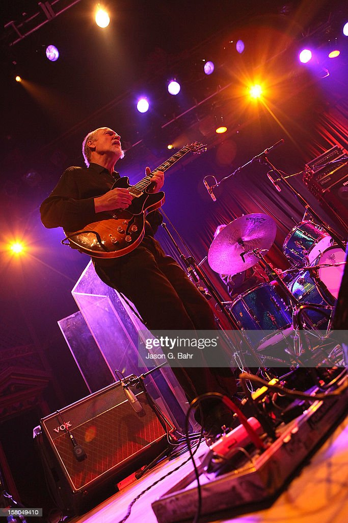 John Scofield of Madeski Scofield Martin & Wood performs at Ogden Theatre on December 7, 2012 in Denver, Colorado.
