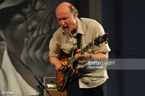 John Scofield performing on stage at the New Orleans Jazz Heritage Festival on May 1 2009 in New Orleans