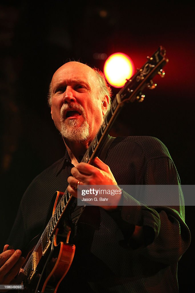 John Scofield performs with Madeski Martin & Wood at Ogden Theatre on December 7, 2012 in Denver, Colorado.