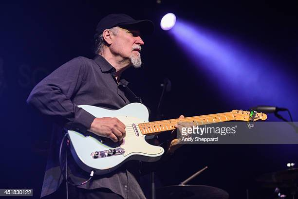 John Scofield's Uberjam perform on stage at Love Supreme Jazz Festival at Glynde Place on July 5 2014 in Lewes United Kingdom