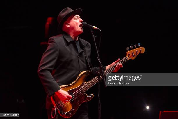 John 'Segs' Jennings of Ruts DC performs at Brixton Academy on March 24 2017 in London United Kingdom