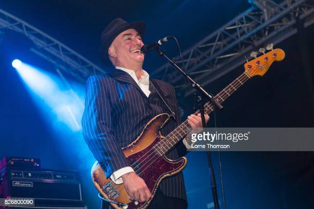 John 'Segs' Jennings of Ruts DC performs at Rebellion Festival at Winter Gardens on August 5 2017 in Blackpool England