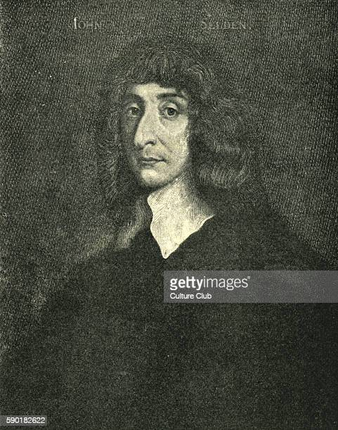 John Selden portrait English jurist and scholar of England's ancient laws and constitution and Jewish law 16 December 1584 Ð 30 November 1654