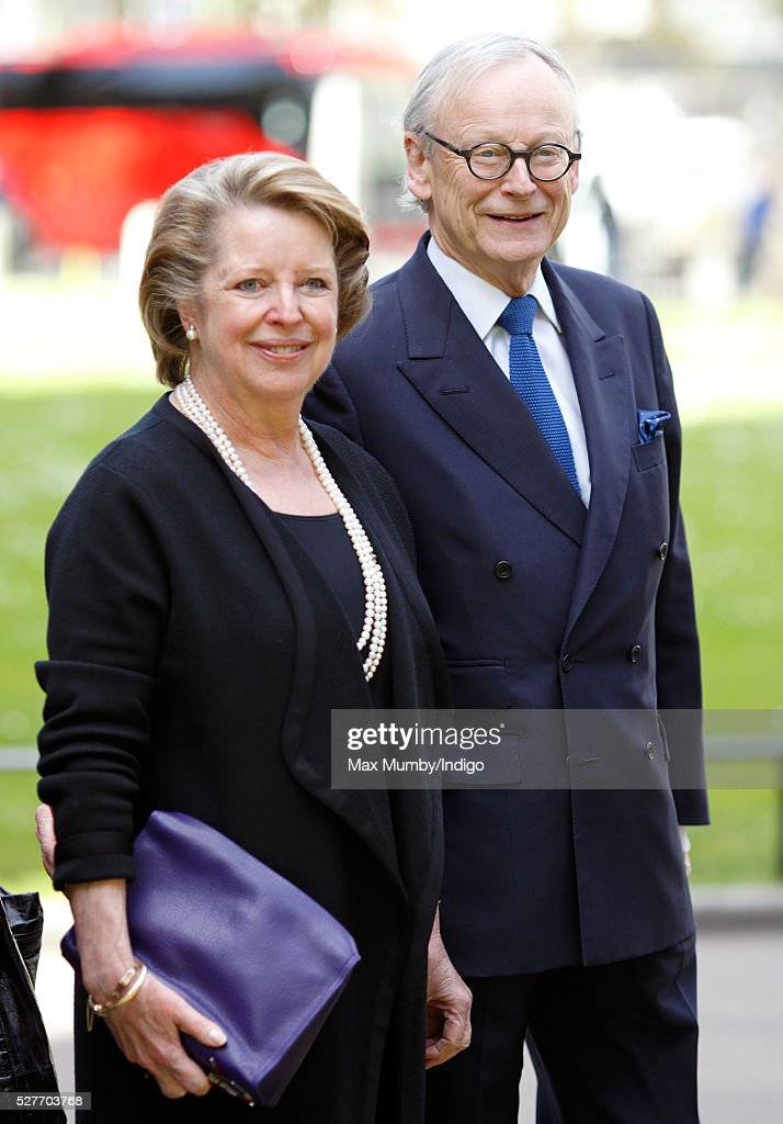 John Selwyn Gummer attends a Service of Thanksgiving for the life of Geoffrey Howe (Lord Howe of Aberavon) at St Margaret's Church, Westminster Abbey on May 3, 2016 in London, England. Conservative politician Geoffrey Howe who served as Chancellor of the Exchequer and Foreign Secretary during the 1980's died aged 88 on October 9, 2015.