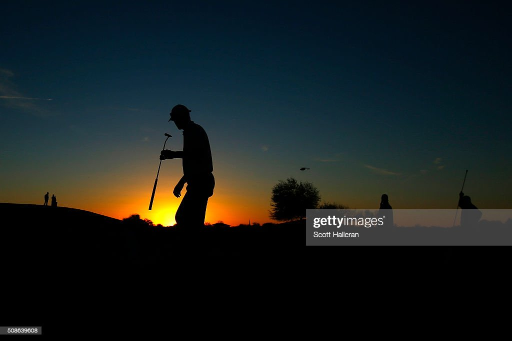 John Senden of Australia walks across the ninth hole during the second round of the Waste Management Phoenix Open at TPC Scottsdale on February 5, 2016 in Scottsdale, Arizona.