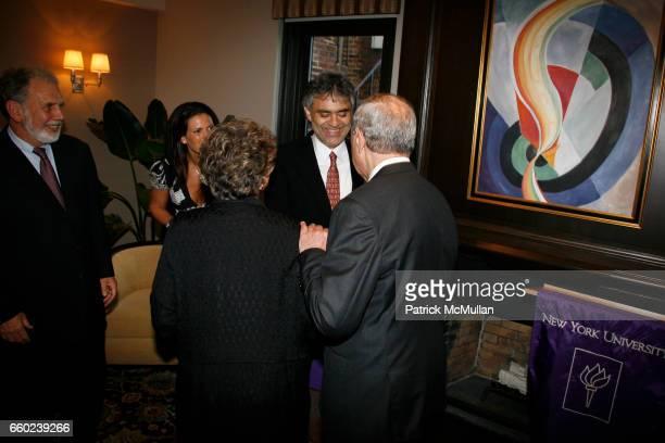 John Sexton Veronica Berti Matilda Raffa Cuomo and Governor Mario Cuomo attend JOHN SEXTON and MATILDA RAFFA CUOMO host a reception honoring ANDREA...