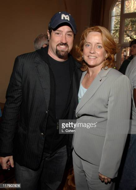 John Shanks and Maureen Crowe during National GRAMMY Career Day Los Angeles at USC in Los Angeles California United States