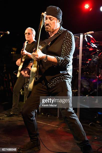 John Shanks performs during Bon Jovi Live presented by SiriusXM during Art Basel at the Faena Theater on December 3 2016 in Miami Beach Florida The...