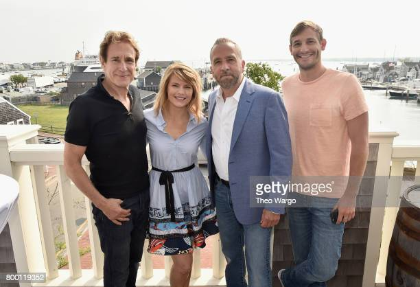 John Shea Kathleen Rose Perkins George Pelecanos and Ryan White attend 'Morning Coffee' during the 2017 Nantucket Film Festival Day 3 on June 23 2017...